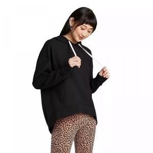 wild fable Tops - (5/$25) NEW Wild Fable Ebony Oversized Hoodie Larg